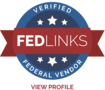 Badge fedlinks seal tag 2x