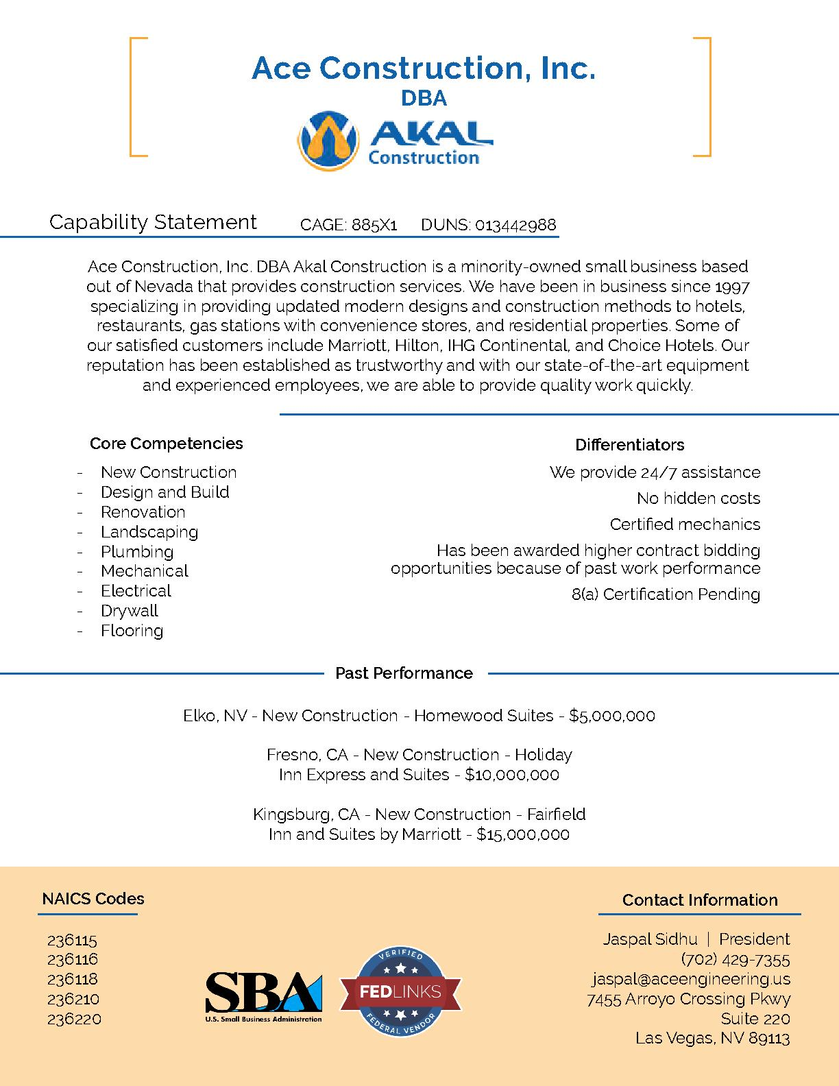 Akal construction