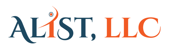 Logo design white and blue