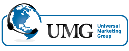 Universal marketing group logo
