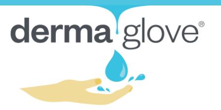 Derma glove logo
