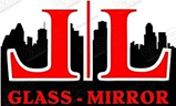 Ll glass and mirror logo
