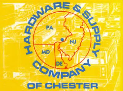 Hardware and supply company of chester logo