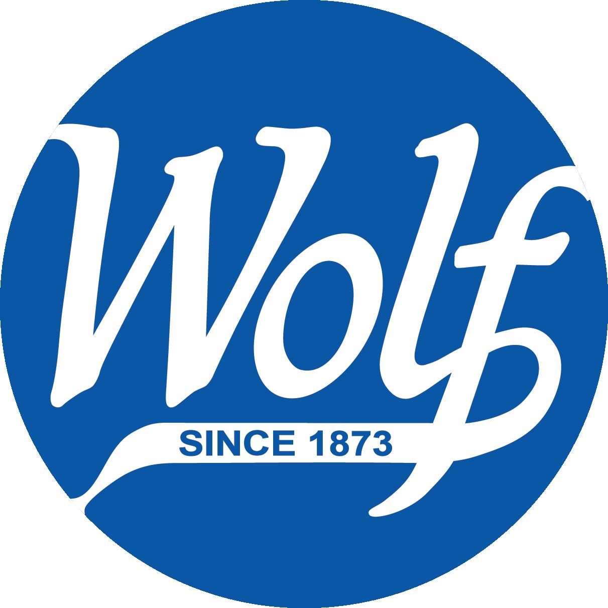Wolf since 1873 logo