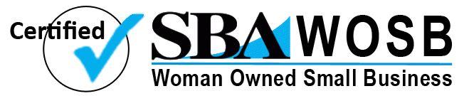 Sba wosb certified logo